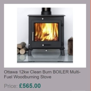 Ottawa 12kw Clean Burn BOILER Multi-Fuel