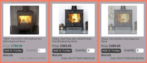 Stoves Savings